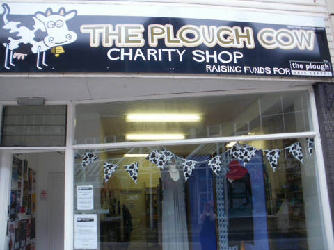 The Plough Cow charity shop