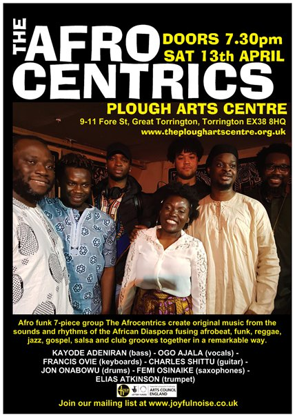 The Afrocentrics | The Plough Arts Centre