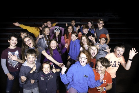 Members of The Plough Youth Theatre